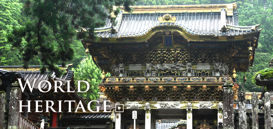 Feel the history and Culture of Japan at World-Heritage Shrines and Temples